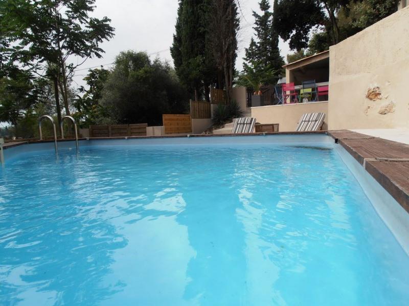 Loue a 5 min de la mer de Cannes, maison avec piscine