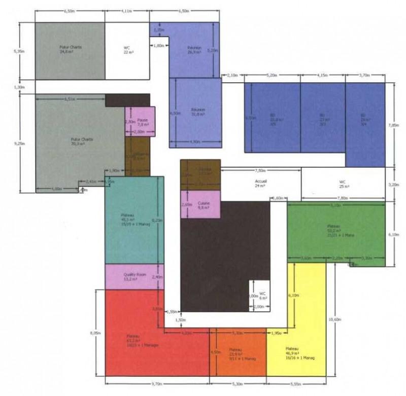 location bureau saint cloud centre 92210 bureau saint cloud centre de 728 m ref 671506. Black Bedroom Furniture Sets. Home Design Ideas