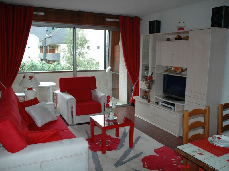 Location vacances Saint-Lary-Soulan -  Appartement - 3 personnes - Salon de jardin - Photo N° 1