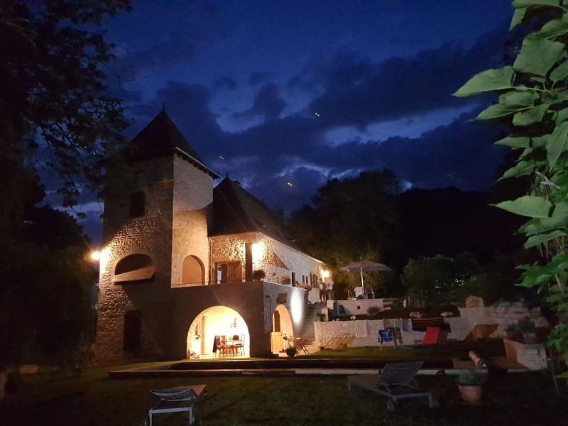 Moulin de Monsieur, 12 Personnes, Cahors - Quercy, piscine 10x3.5 chauffée