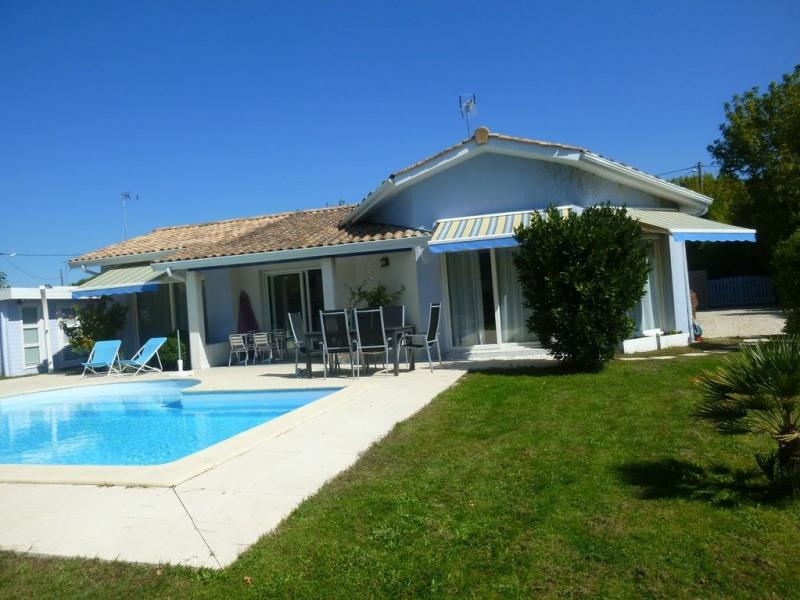 Villa contemporaine 8 pers avec piscine chauffée sur terrain clos de 1080m²