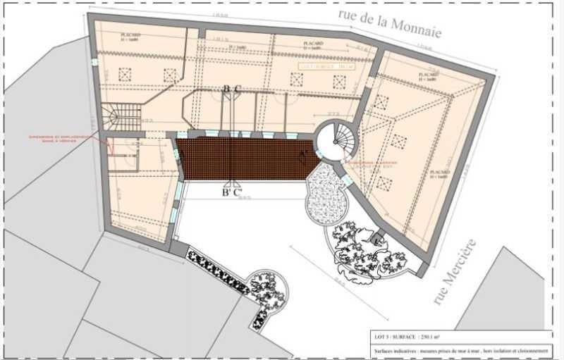 location bureau lyon 2 me rh ne 69 484 m r f rence n 145986. Black Bedroom Furniture Sets. Home Design Ideas