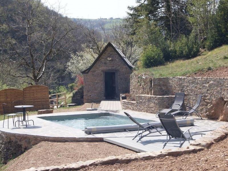 LOU CASAL - la piscine privée et chaufféee