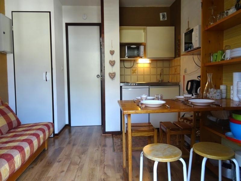 Studio 2 personnes à Bourg Saint Maurice dans une résidence avec piscine et proche du funiculaire
