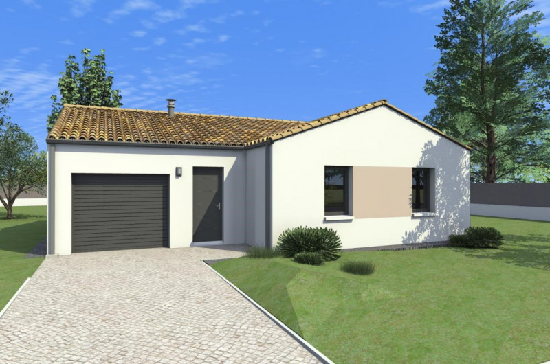 Maison  5 pièces + Terrain 450 m² Chavagnes-en-Paillers par ALLIANCE CONSTRUCTION LES HERBIERS