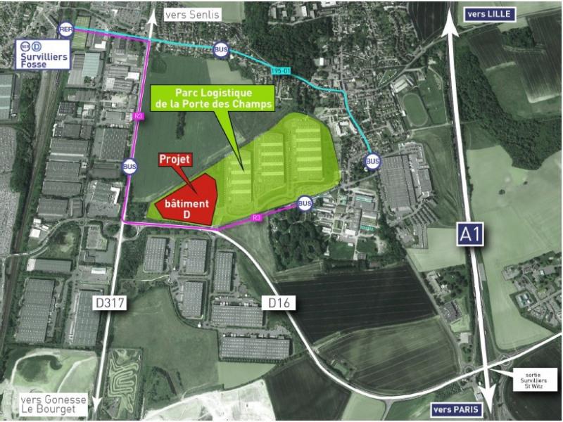 Location Local d'activités / Entrepôt Survilliers