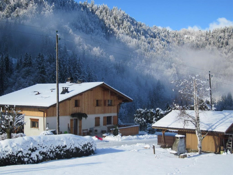 Face nord chalet Vallon + Grd Parking