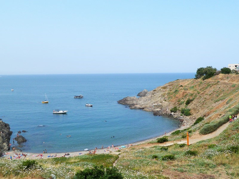 Holiday rentals Port-Vendres - Apartment - 4 persons - Television - Photo N° 1