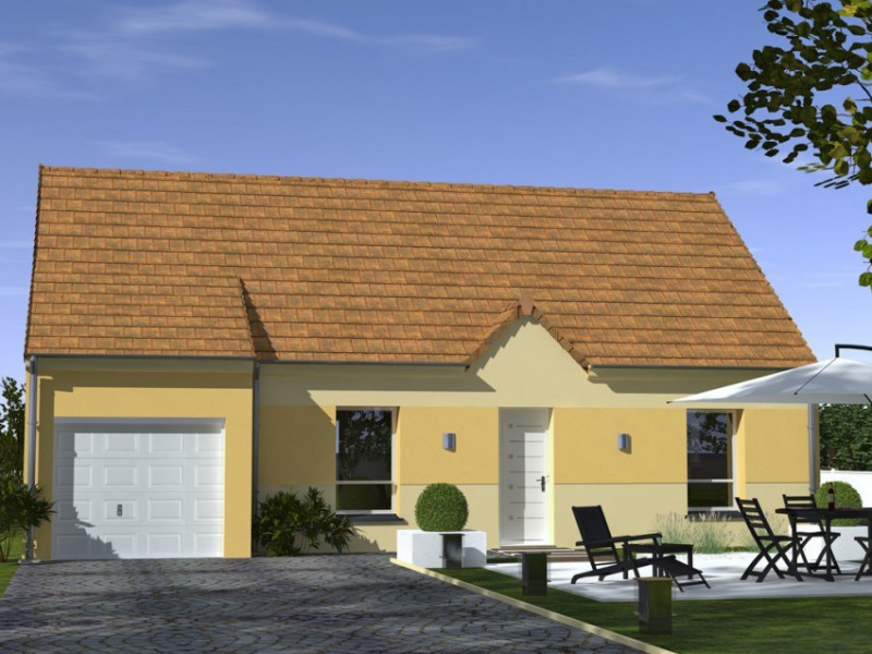 Maison  5 pièces + Terrain 600 m² Montigny-Lencoup par MAISONS LELIEVRE