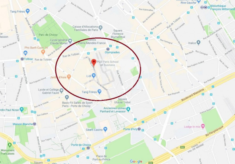 Location Local Commercial Paris 13eme Paris 75 100 M Reference