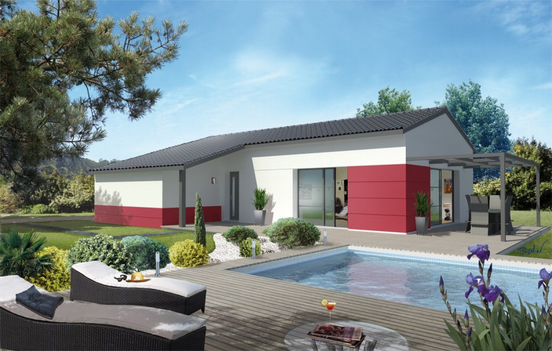 Maison  4 pièces + Terrain 550 m² Saint-Pierre-de-Lages par GARONA VILLA