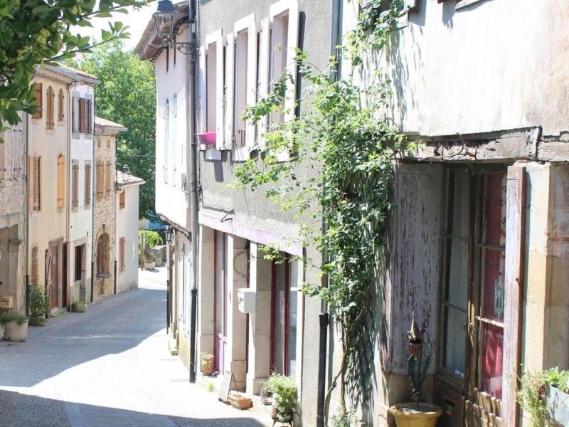 dans 1 village historique cathare maison de 120 m2 + terrasse pour 2-11 pers.