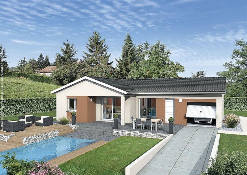 Maison  5 pièces + Terrain 1025 m² Louhans par MAISONS PUNCH