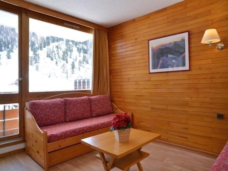 Appartement situé face aux pistes de Plagne Bellecôte