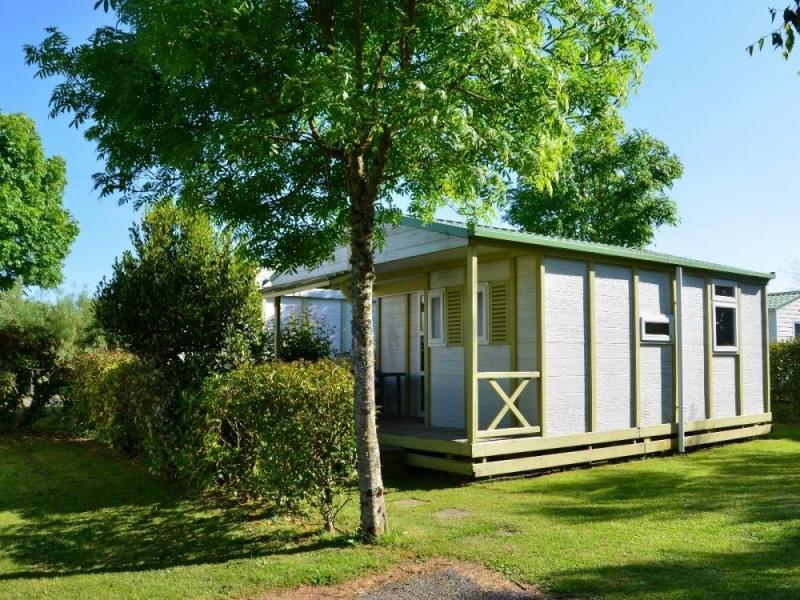 Chalet 5 personnes 2 chambres avec terrasse couverte