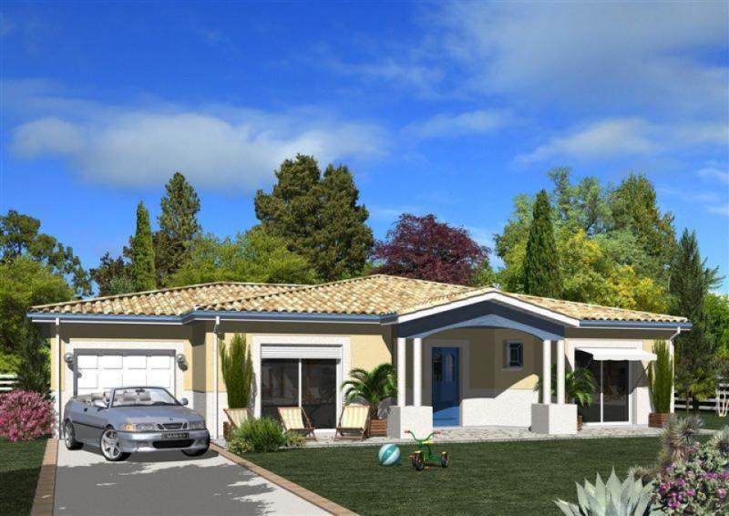 Maison  5 pièces + Terrain 2700 m² Casteljaloux par MAISONS M.C.A. SAINTE BAZEILLE