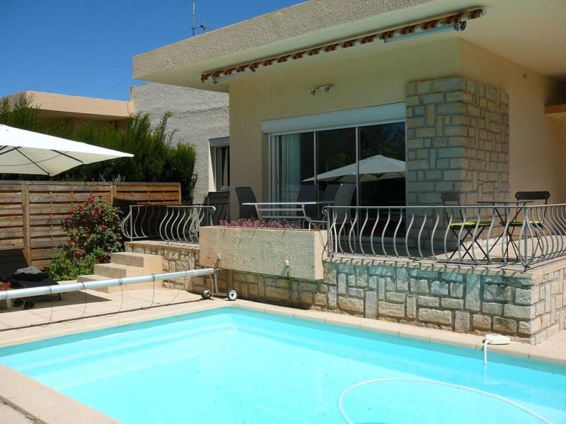 charmante villa entre mer et village avec piscine et jardin da ns coin tranqu