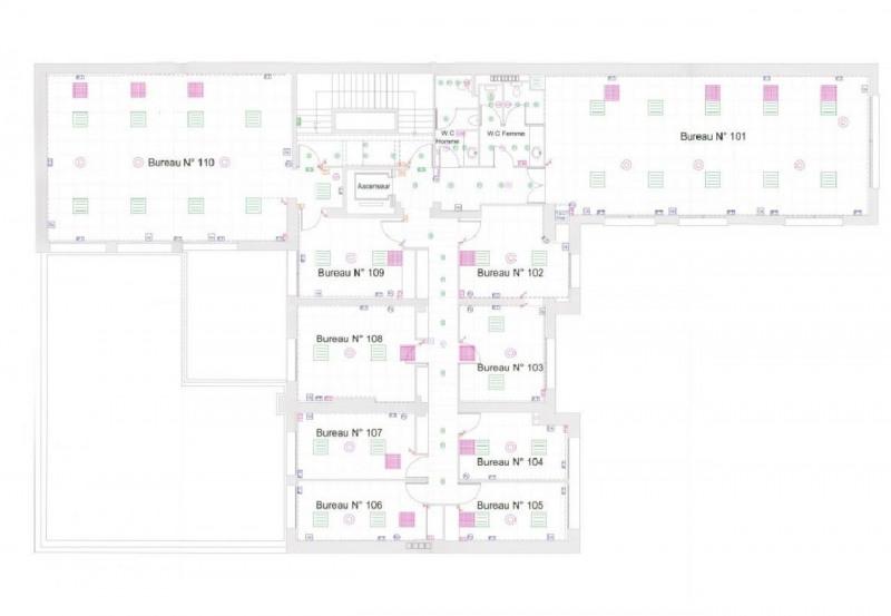 location bureau la garenne colombes 92250 bureau la garenne colombes de 770 m ref 590093. Black Bedroom Furniture Sets. Home Design Ideas