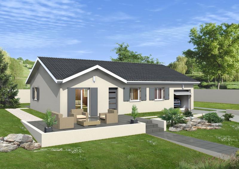 Maison  4 pièces + Terrain 620 m² L'Isle-d'Abeau par MAISONS PUNCH