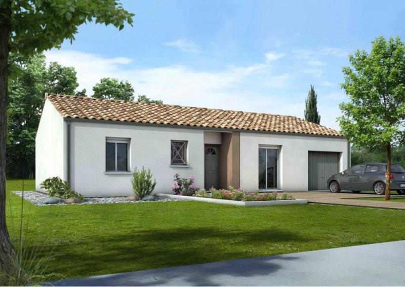Maison  4 pièces + Terrain 1000 m² Aujac par MAISONS M.C.A. SAINTES