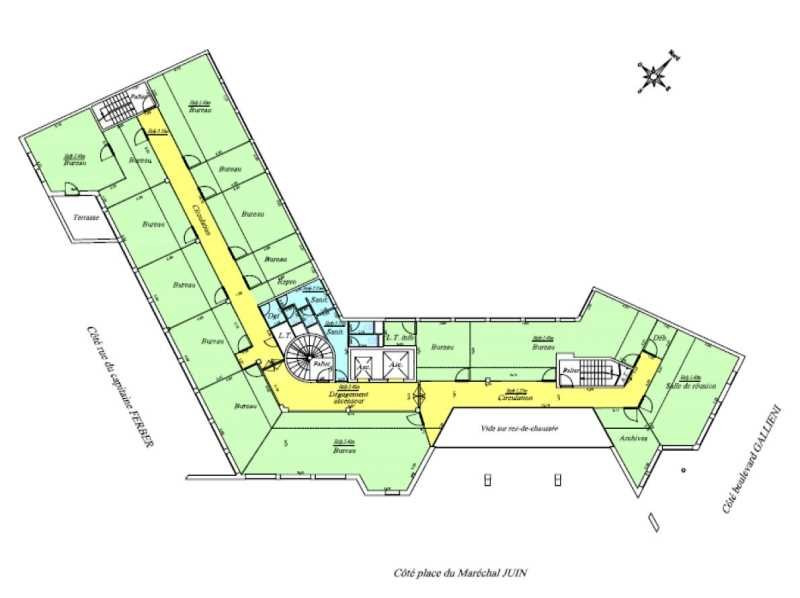 location bureau issy les moulineaux hauts de seine 92 1166 m r f rence n 701726. Black Bedroom Furniture Sets. Home Design Ideas