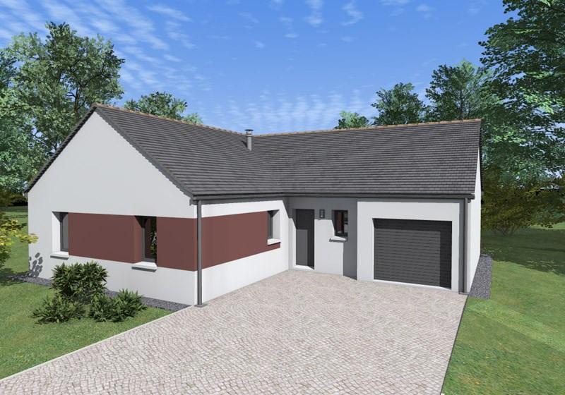 Maison  5 pièces + Terrain 419 m² Faye-d'Anjou par ALLIANCE CONSTRUCTION ANGERS