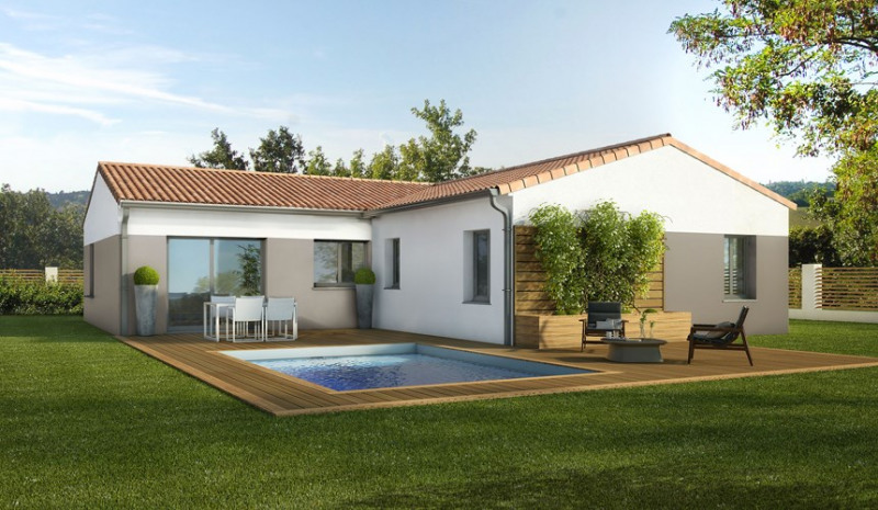 Maison  4 pièces + Terrain 1000 m² Lacroix-Falgarde par MAISONS LOGECO