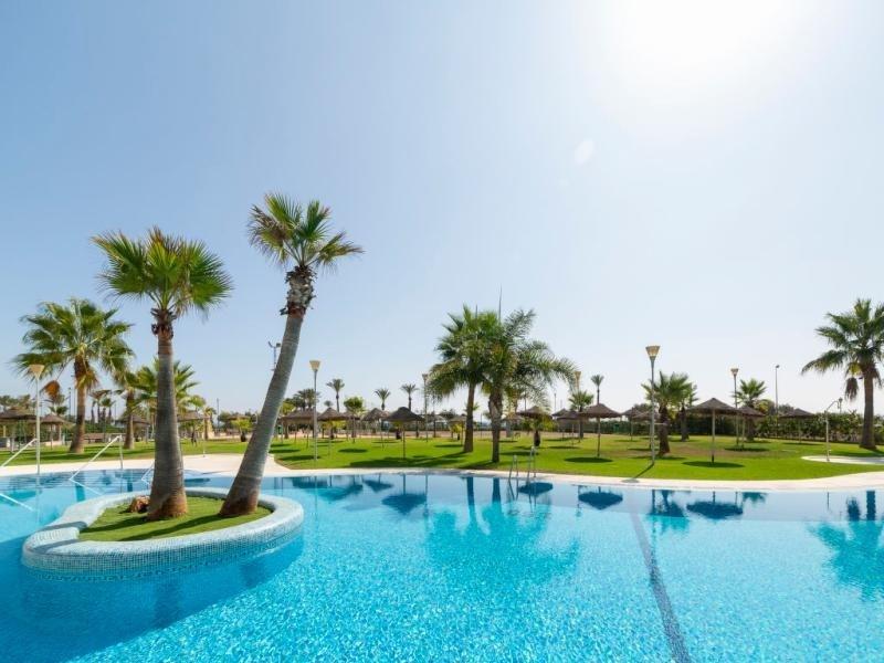 Location vacances Roquetas de Mar -  Appartement - 4 personnes - Jardin - Photo N° 1