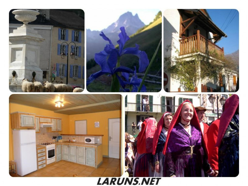 Location vacances Laruns -  Maison - 6 personnes - Salon de jardin - Photo N° 1