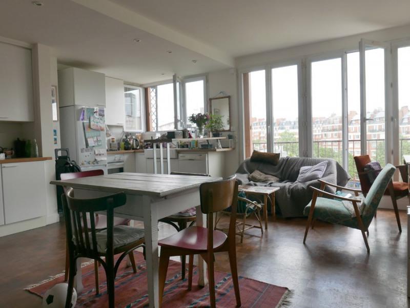 Vente Appartement 3 Pièces 57,74m² Paris 20ème