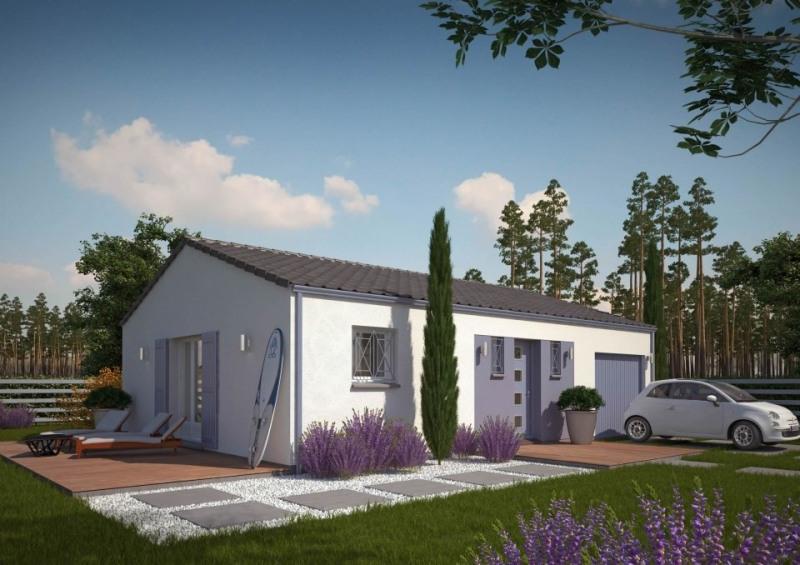 Maison  3 pièces + Terrain 1001 m² Abzac par MAISONS M.C.A. COUTRAS