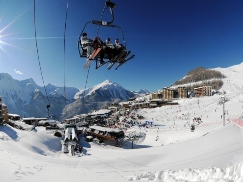 Deux pièces 6 pers au centre station à Orcières Merlette - Alpes du Sud
