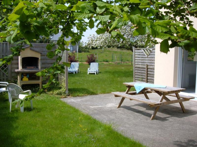 Terrasse avec la salle à manger de Plein Soleil (RdC)