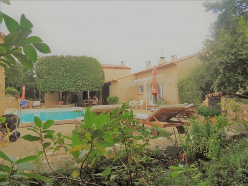 la maison coté piscine