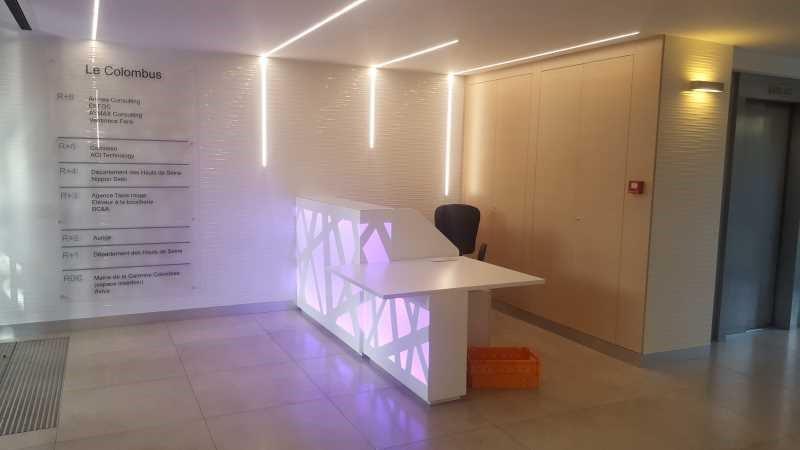 location bureau la garenne colombes hauts de seine 92 732 m r f rence n 686661w. Black Bedroom Furniture Sets. Home Design Ideas