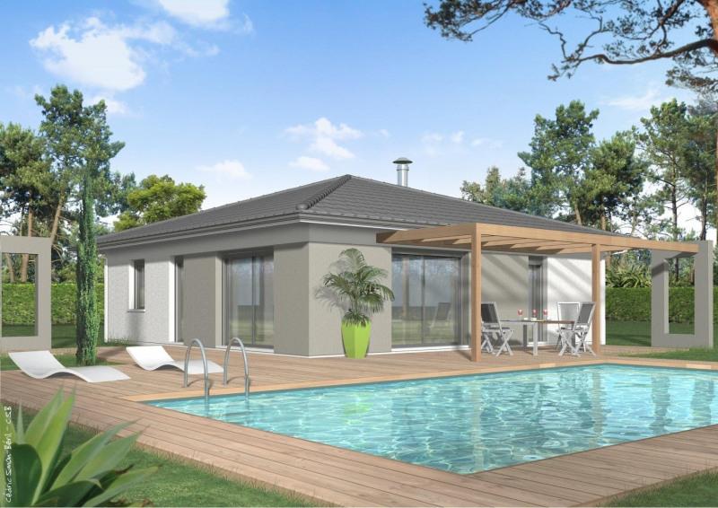 Maison  5 pièces + Terrain 550 m² Saint-Macaire par MAISONS QUADRI