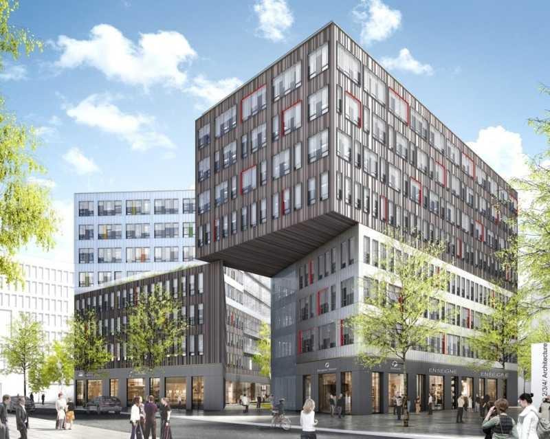 Location bureau bordeaux gironde 33 7273 m r f rence for Immobilier professionnel bordeaux