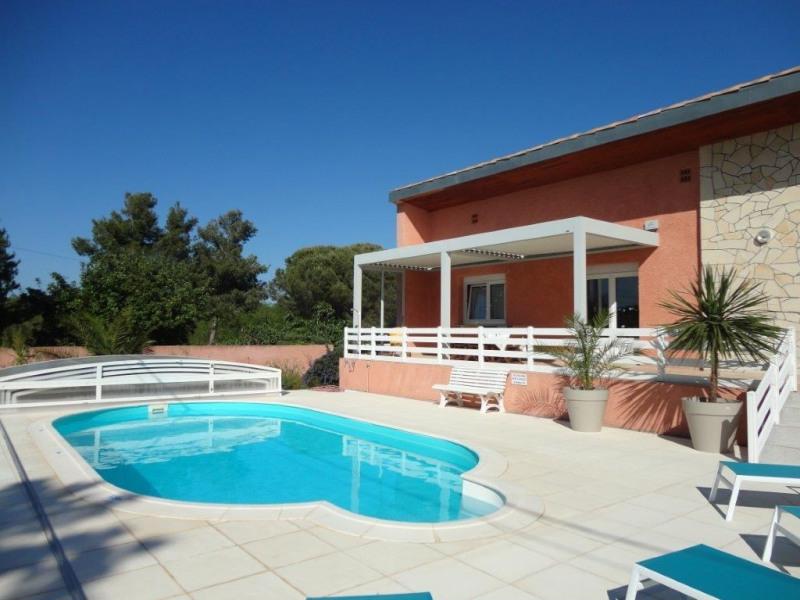 villa 140 m2 tout confort avec piscine privée et grand jardin clos à Sérignan - Serignan