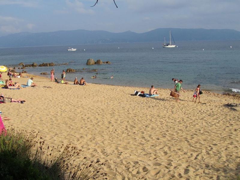 Vue de la plage à partir de la terrasse 1