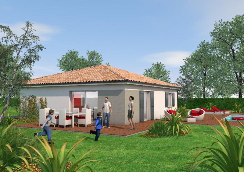 Maison  4 pièces + Terrain 400 m² Prignac-et-Marcamps par BATI SOFT AQUITAINE ST LOUBES