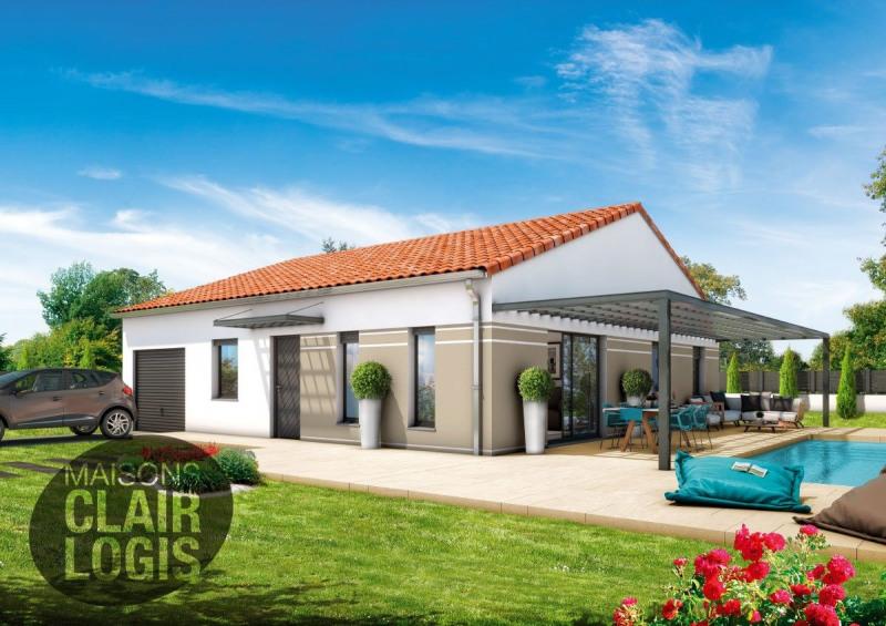 Maison  4 pièces + Terrain 600 m² Caussade par MAISONS CLAIR LOGIS Caussade