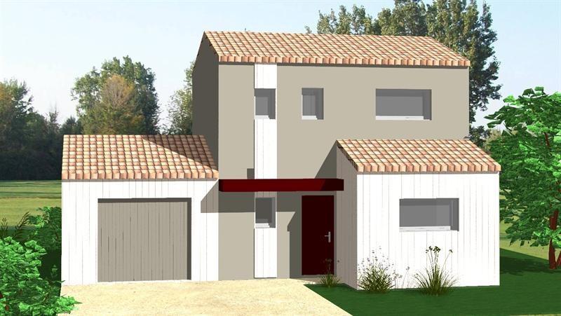 Maison  3 pièces + Terrain 1070 m² Pouillé par DELRIEU CONSTRUCTION