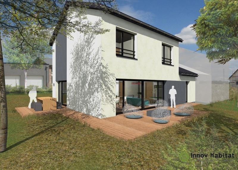 """Modèle de maison  """"Maison performante 4 chambres"""" à partir de 6 pièces Haut-Rhin par INNOV'HABITAT"""