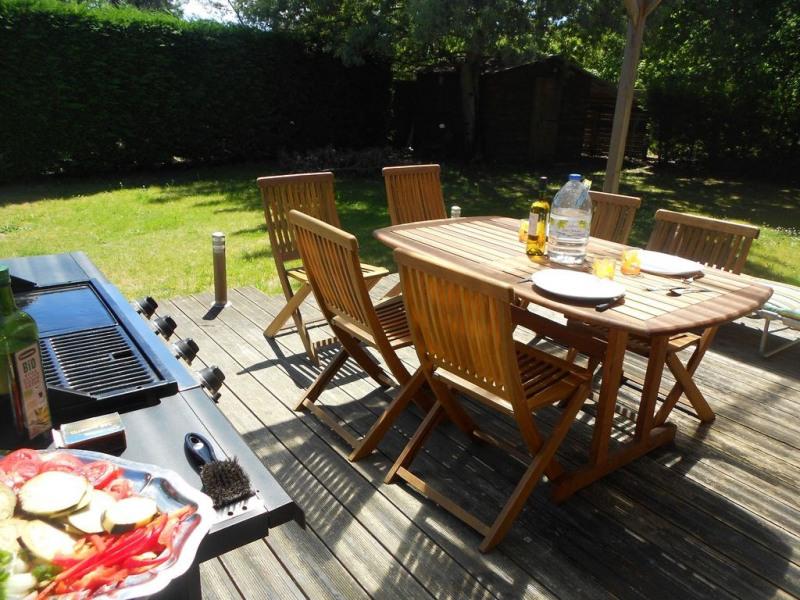 Terrasse - barbecue/plancha