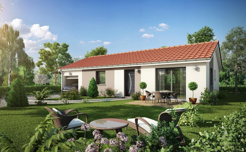 Maison  4 pièces + Terrain 459 m² Les Côtes-d'Arey par MAISONS LIBERTE