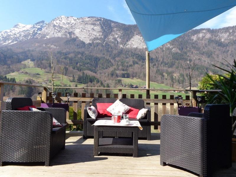 Salon de jardin terrasse vue panoramique