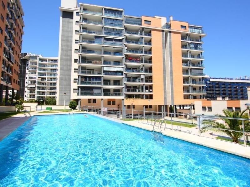 Location vacances Benidorm -  Appartement - 4 personnes - Jardin - Photo N° 1