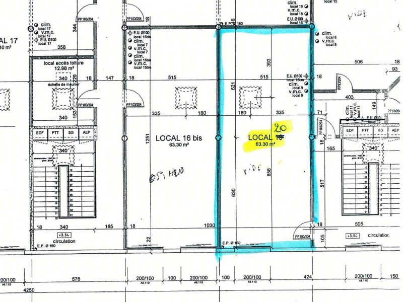 Location bureau vannes 56000 bureau vannes de 63 m for Bureau vannes