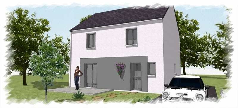 Maison  5 pièces + Terrain 273 m² Montereau-Fault-Yonne par CHENES CONSTRUCTIONS