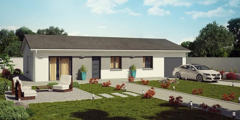 Maison  5 pièces + Terrain 347 m² Charnoz sur Ain par DEMEURES CALADOISES